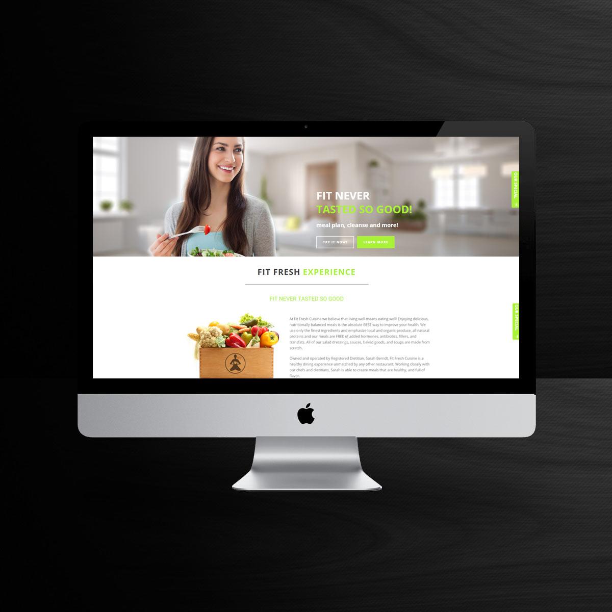 health food web site sample