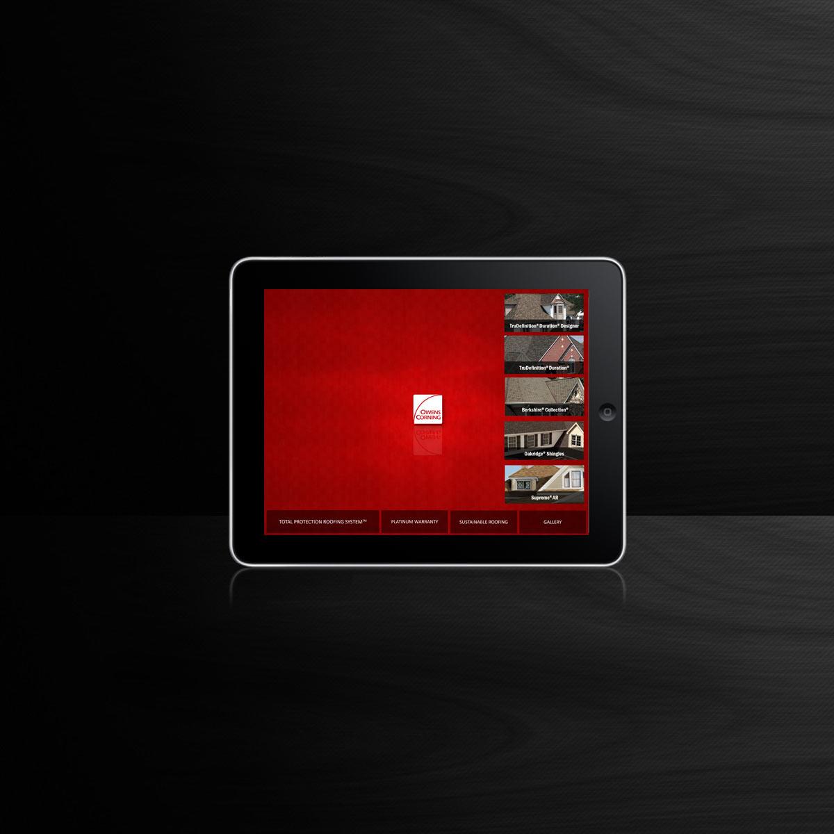 iPad app sample